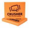 Fitness pomůcka na cvičení CRUSHER oranžový - foto 1