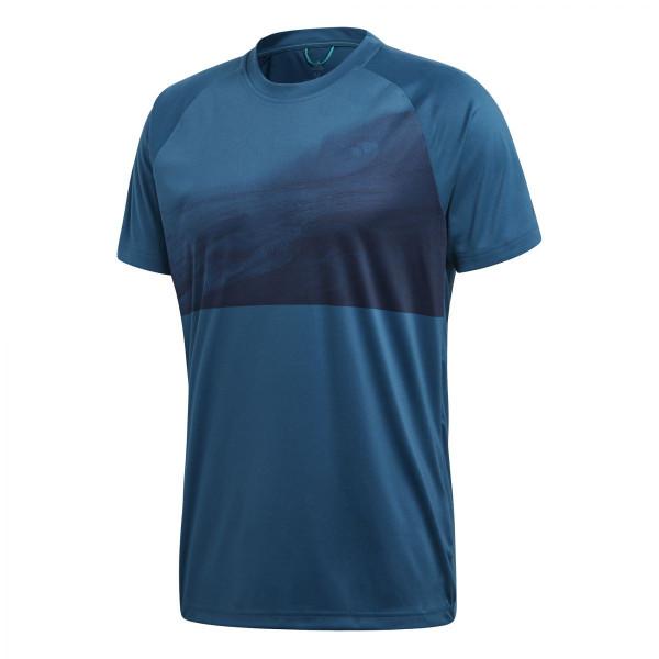 Pánské tričko adidasPerformance Ampli Tee 3 - foto 6