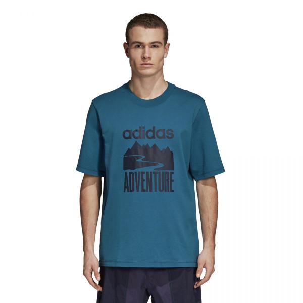 Pánské tričko adidasOriginals ADVENTURE TEE - foto 0