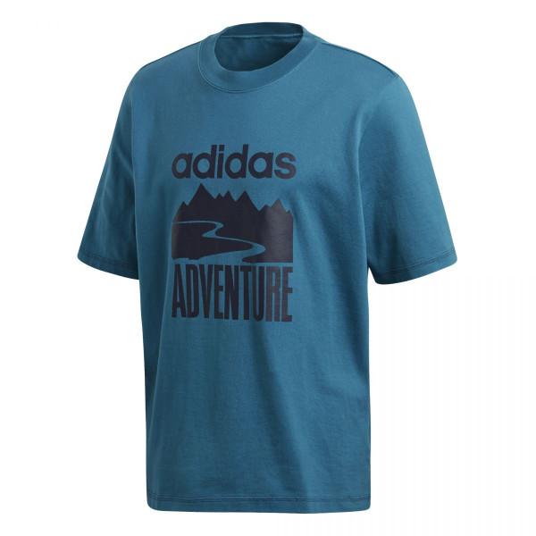 Pánské tričko adidasOriginals ADVENTURE TEE - foto 6