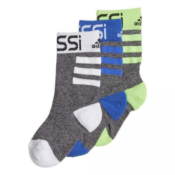 Dětské ponožky adidasPerformance MESSI K S 3 PÁRY - foto 1