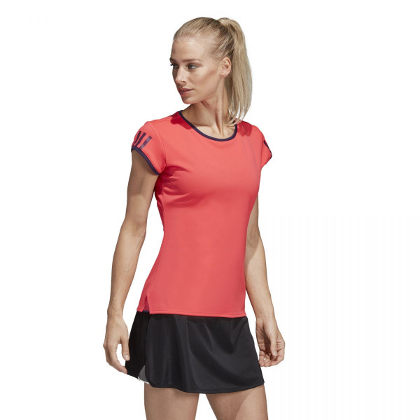 Dámské tričko adidasPerformance CLUB 3-STRIPES TEE - foto 1