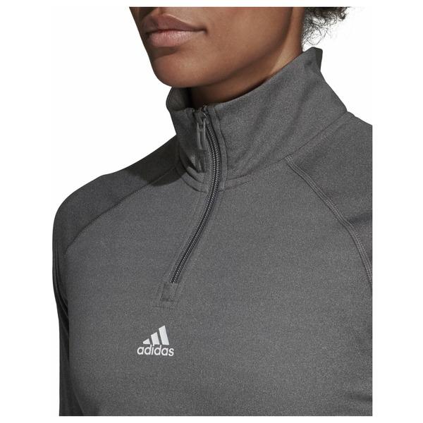 Dámské tričko adidasPerformance W LIN 1/4 ZIP - foto 4