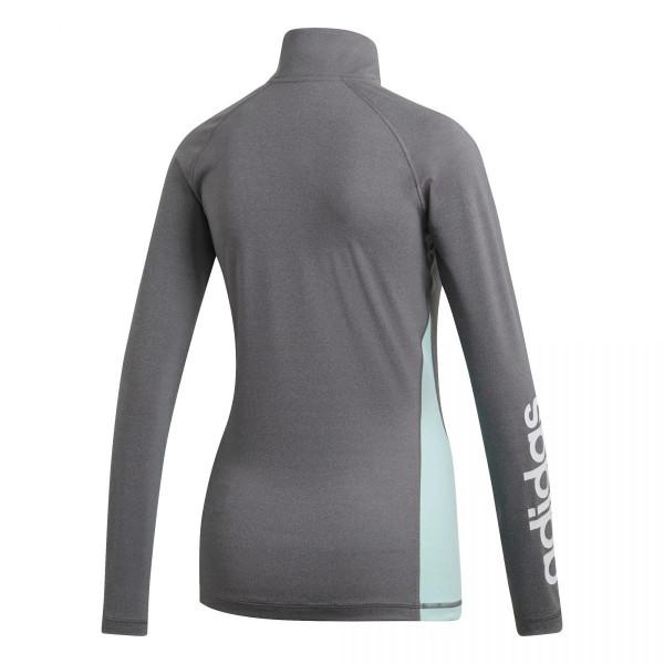 Dámské tričko adidasPerformance W LIN 1/4 ZIP - foto 8