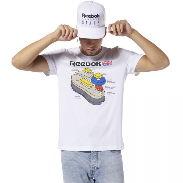 Pánské tričko Reebok CL CALLOUT GRAPHIC TEE - foto 0