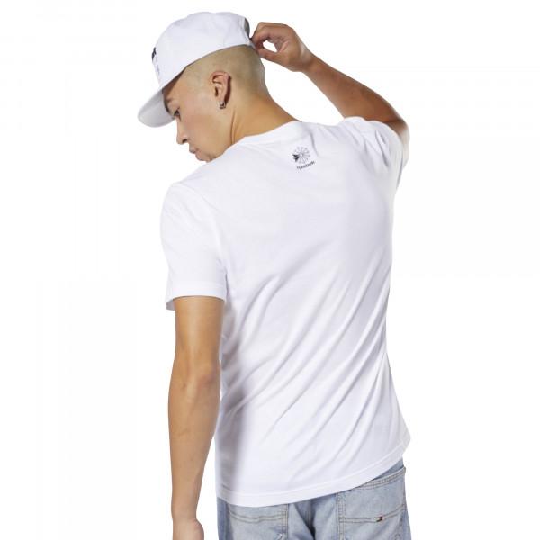 Pánské tričko Reebok CL CALLOUT GRAPHIC TEE - foto 2