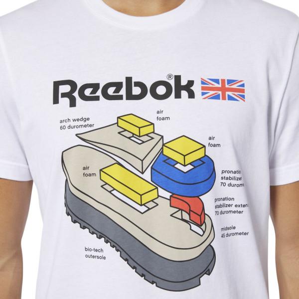 Pánské tričko Reebok CL CALLOUT GRAPHIC TEE - foto 3