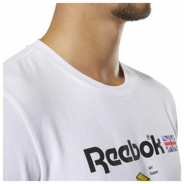 Pánské tričko Reebok CL CALLOUT GRAPHIC TEE - foto 4