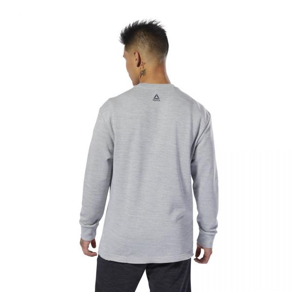 Pánské tričko Reebok TE MARBLE GROUP CREW - foto 2