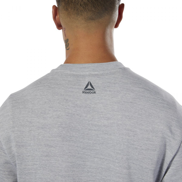 Pánské tričko Reebok TE MARBLE GROUP CREW - foto 3