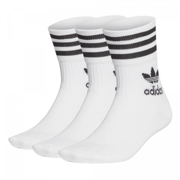 Ponožky adidasOriginals MID CUT CRW SCK - foto 1