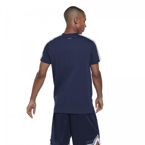 Pánské  tričko Reebok TE LL SS Graphic Tee - foto 1
