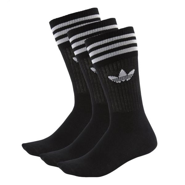 Ponožky adidasOriginals SOLID CREW SOCK 3 PÁRY - foto 0