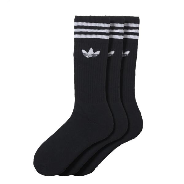 Ponožky adidasOriginals SOLID CREW SOCK 3 PÁRY - foto 1