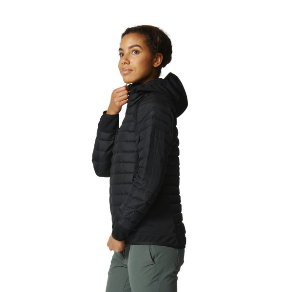 Dámská zimní bunda adidasPerformance W HYB DW HO - foto 1