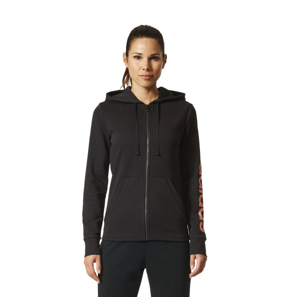 Dámská mikina <br>adidas Performance<br> <strong>ESSENTIALS LIN FZ HD</strong> - foto 0