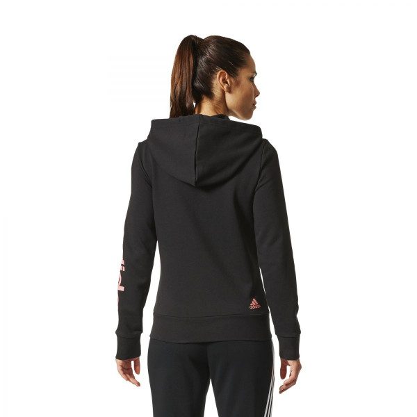 Dámská mikina <br>adidas Performance<br> <strong>ESSENTIALS LIN FZ HD</strong> - foto 2