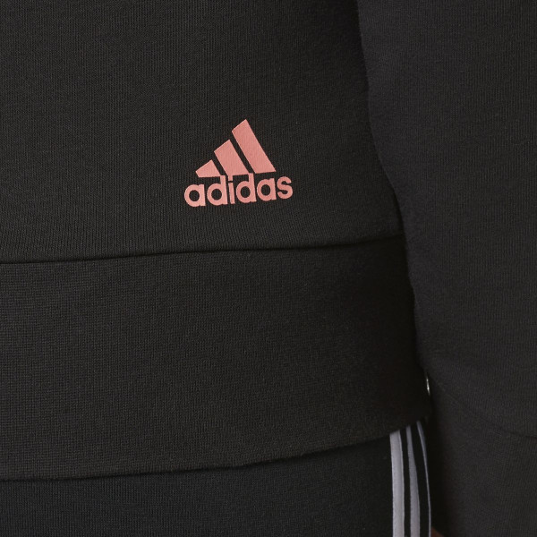 Dámská mikina <br>adidas Performance<br> <strong>ESSENTIALS LIN FZ HD</strong> - foto 4