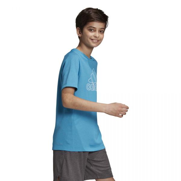 Chlapecké tričko adidasPerformance YB TR CHILL TEE - foto 1
