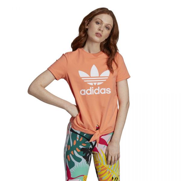 Dámské tričko adidasOriginals TRFL TEE KNTD - foto 0