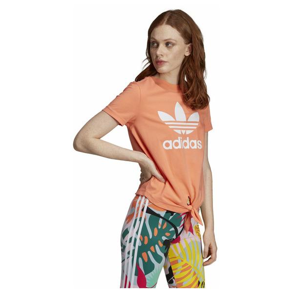 Dámské tričko adidasOriginals TRFL TEE KNTD - foto 1