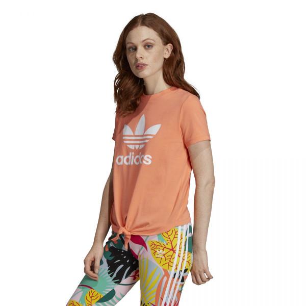Dámské tričko adidasOriginals TRFL TEE KNTD - foto 2