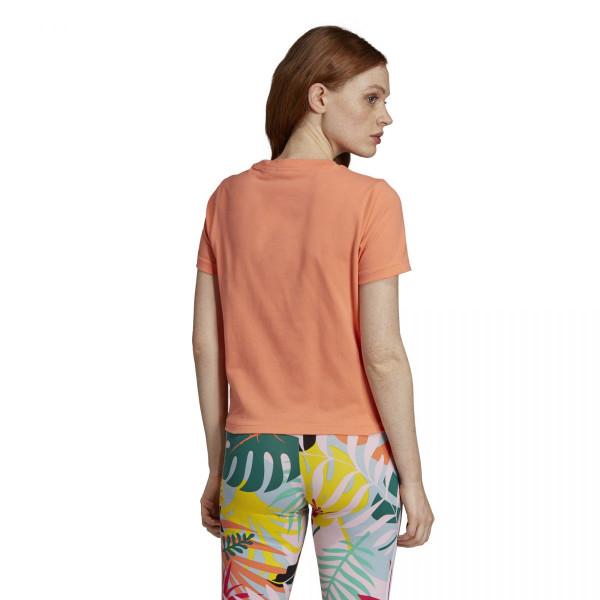 Dámské tričko adidasOriginals TRFL TEE KNTD - foto 3