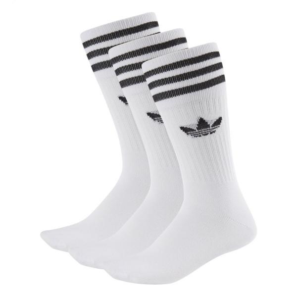 Ponožky adidas Originals SOLID CREW SOCK 3 PÁRY - foto 0 86f7a5cf84